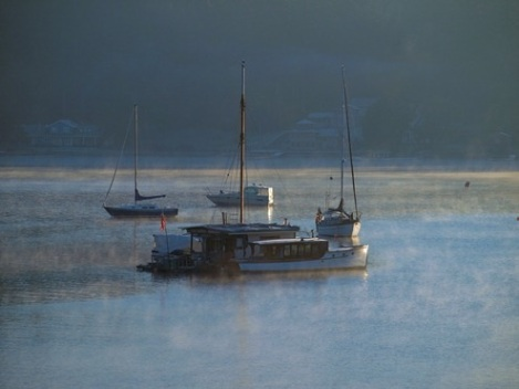 Misty Morning at Filucy Bay