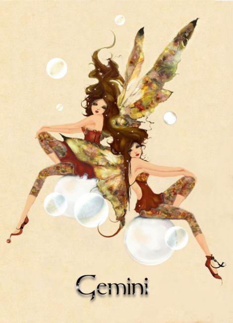 Gemini Fairy by Sandra Macdougall