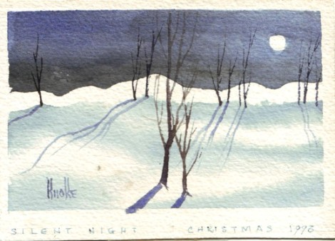 Winter Scene by Alton Knoke